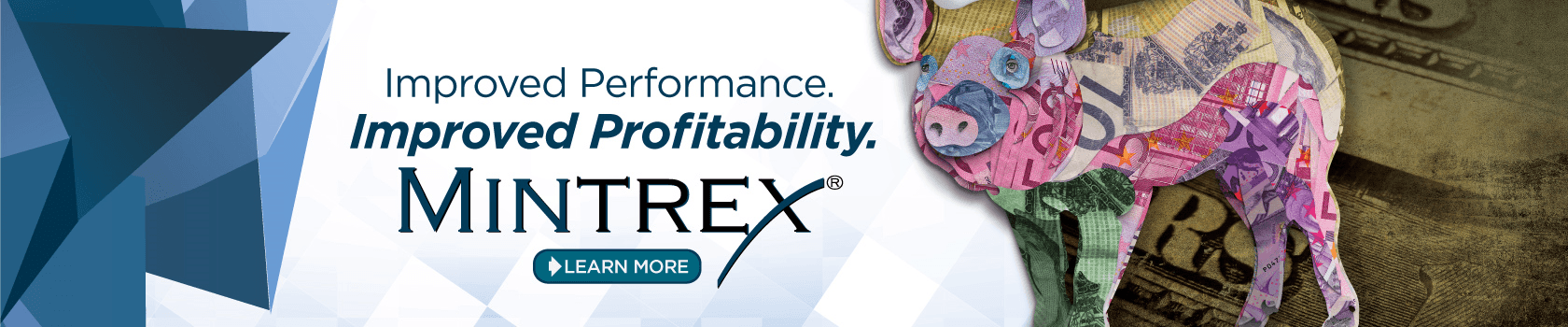 Benefits of MINTREX improved bioavalaibility in swine