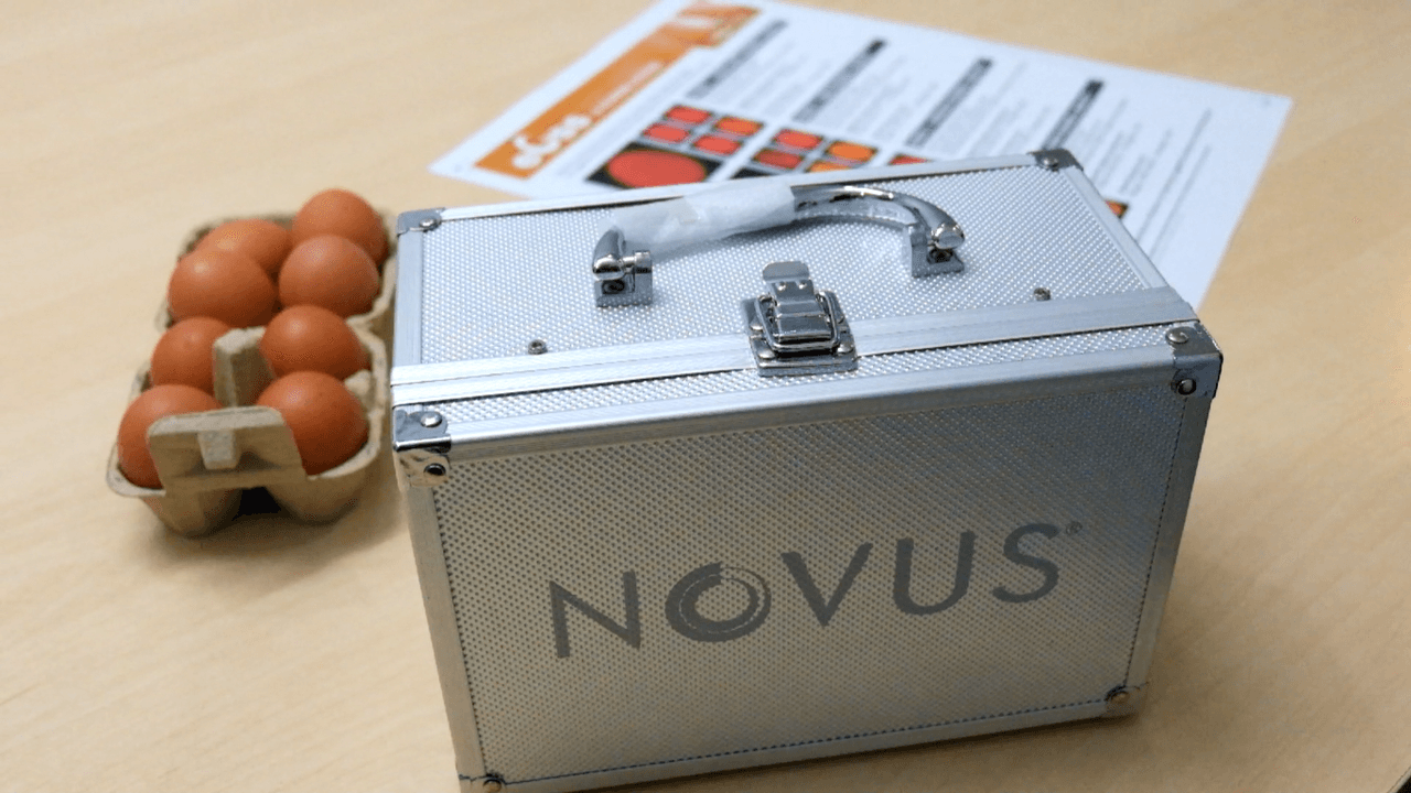Novus Launches eGss System  to Measure Eggshell Strength