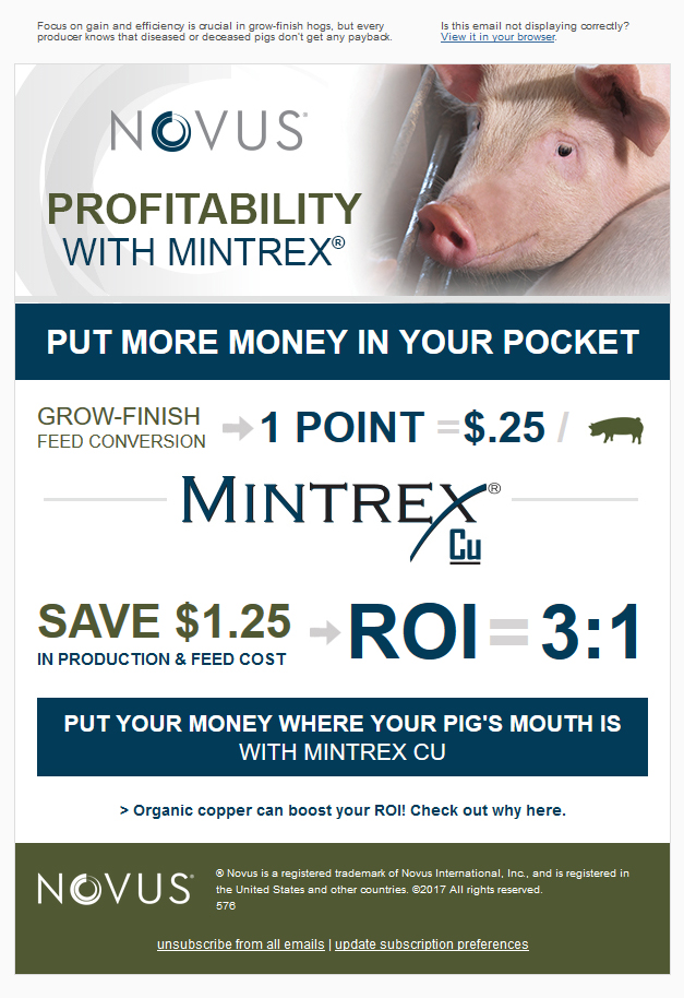Put More Money in Your Pocket- the Profitability of MINTREX