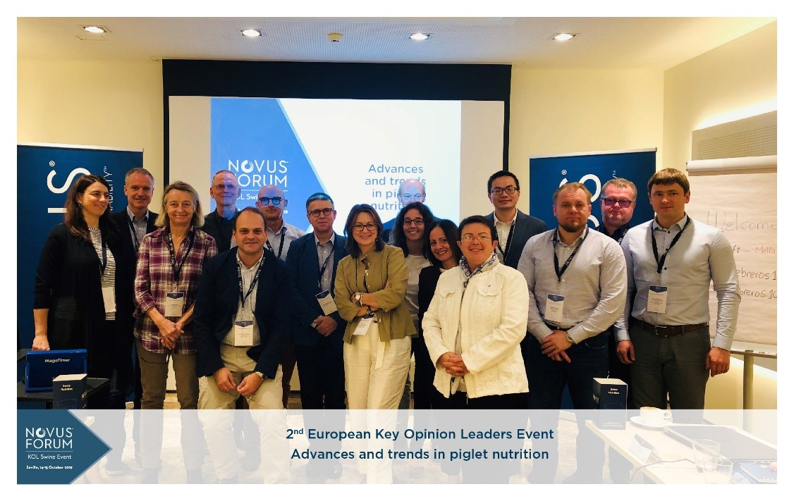 Novus Gathers EU Opinion Leaders to Discuss Advances, Trends in Piglet Nutrition
